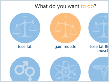 custom workouts for different fitness goals
